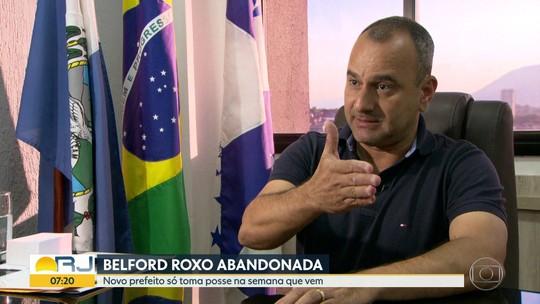 Belford Roxo fica sem prefeito após afastamento de Waguinho