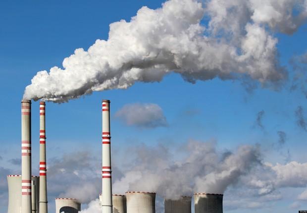 Emissões de gases de efeito estufa ; aquecimento global ; poluição ; emissões de poluentes ;  (Foto: Wikimedia Commons/Wikipedia)