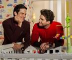 Félix e Niko em 'Amor à vida' | TV Globo