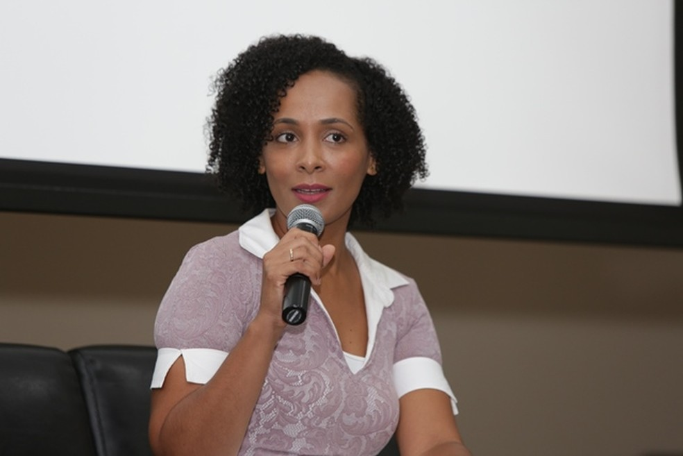 Promotora do Ministério Público, Livia Vaz — Foto: Divulgação/MP-BA
