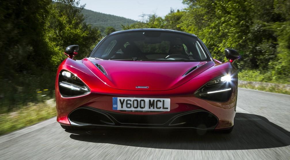 McLaren 720S deve custar quase R$ 3 milhões (Foto: Divulgação)