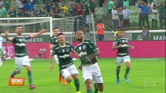 Retrospecto de 2016 e 2018 faz Palmeiras manter esperança na briga pelo título brasileiro