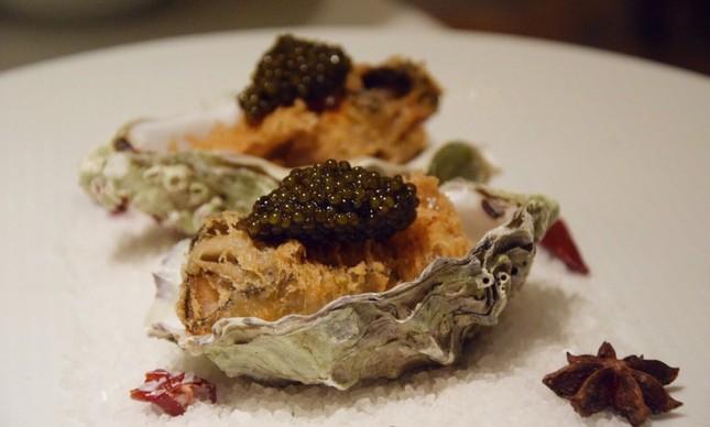 Shang Palace - ostras