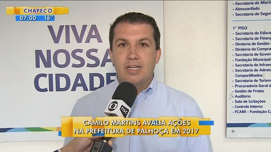 'Vamos mais que triplicar o número de exames diários', diz prefeito de Palhoça