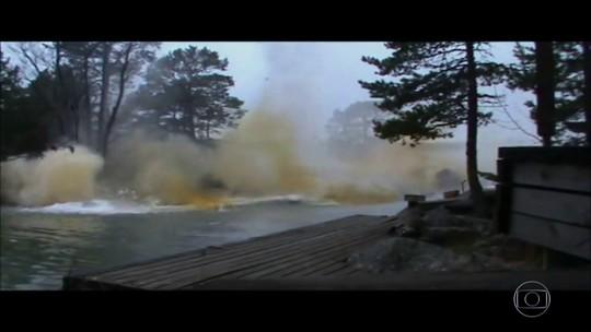 Detetive Virtual investiga vídeo de rio que ferve após ser atingido por raio