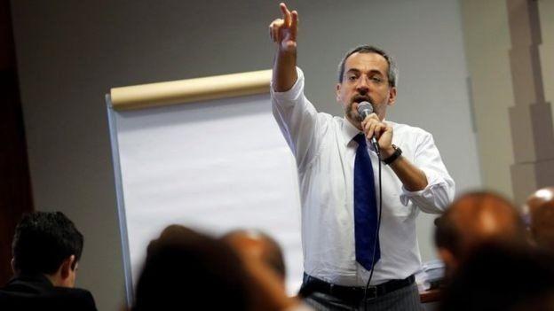 Ministro da Educação, Abraham Weintraub, defende o contingenciamento anunciado pelo governo (Foto: REUTERS)