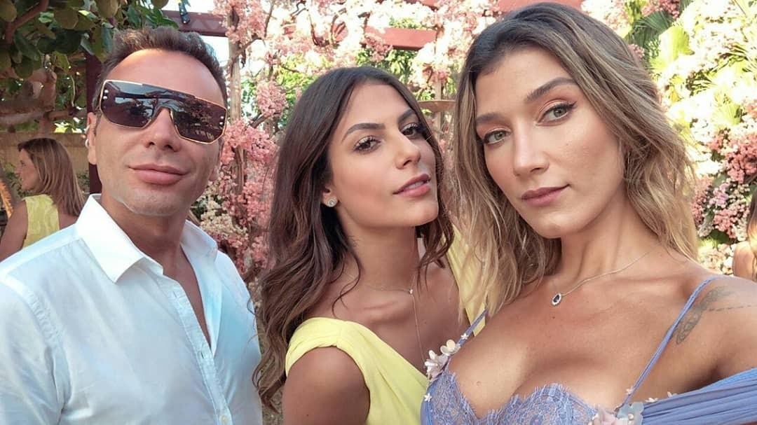 Matheus Mazzafera, Mari Gonzalez e Gabriela Pugliesi (Foto: Reprodução/ Instagram)