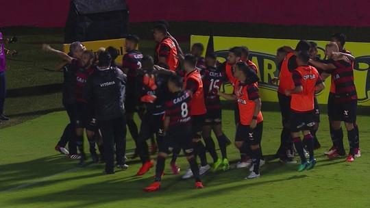 Os pênaltis de Vitória 1 (4) x (3) 0 Internacional pela quarta fase da Copa do Brasil