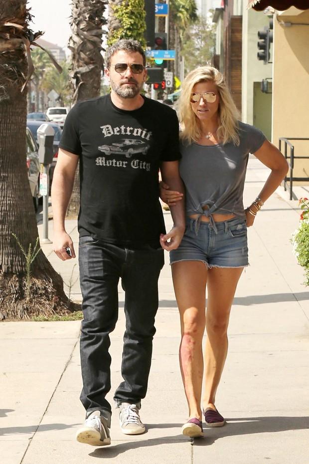 Ben Affleck e Lindsay Shookus (Foto: The Grosby Group)