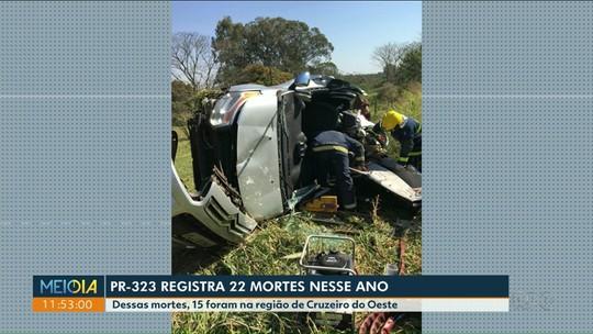 Seis pessoas morreram, neste fim de semana, em acidentes na região