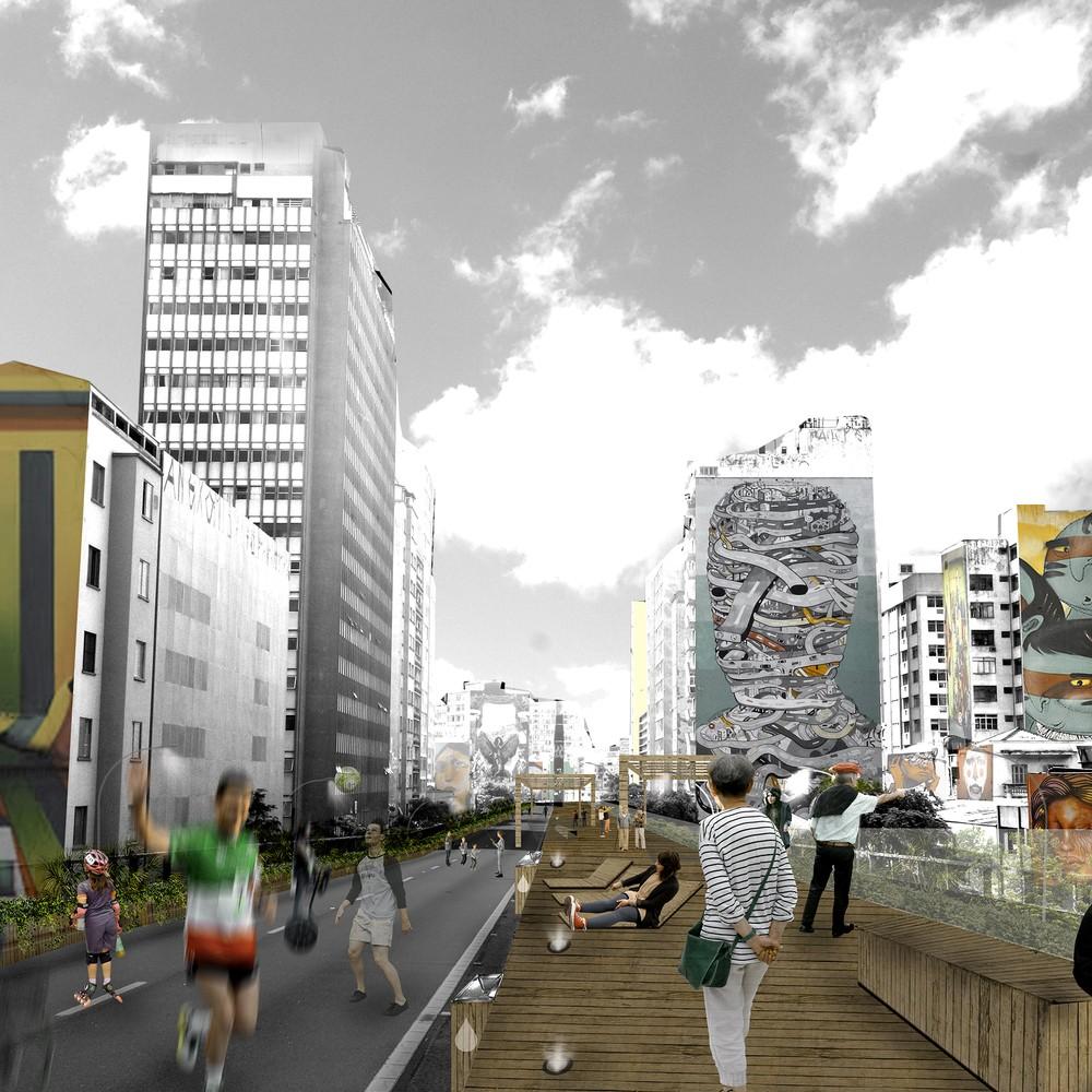 Parque Minhocão: conheça os projetos vencedores do concurso (Foto: Divulgação)