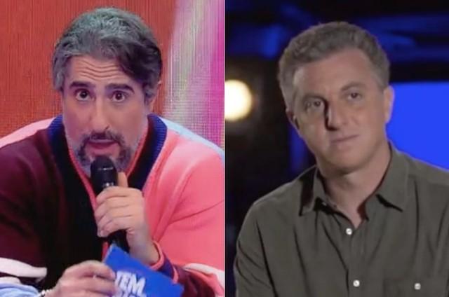 Marcos Mion e Luciano Huck (Foto: Reprodução)
