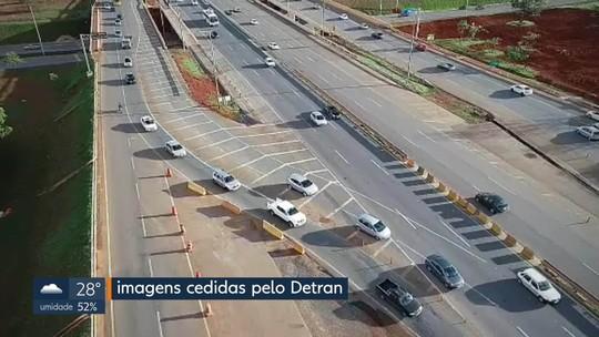 Drones do Detran flagram infratores