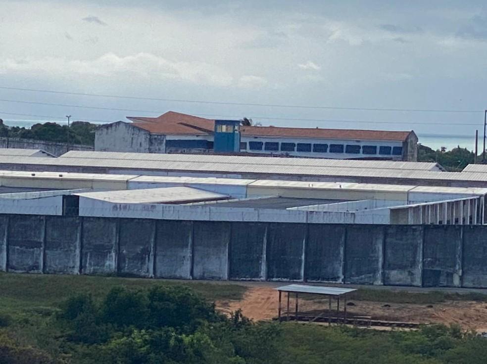 Penitenciária de Alcaçuz — Foto: Kléber Teixeira/Inter TV Cabugi