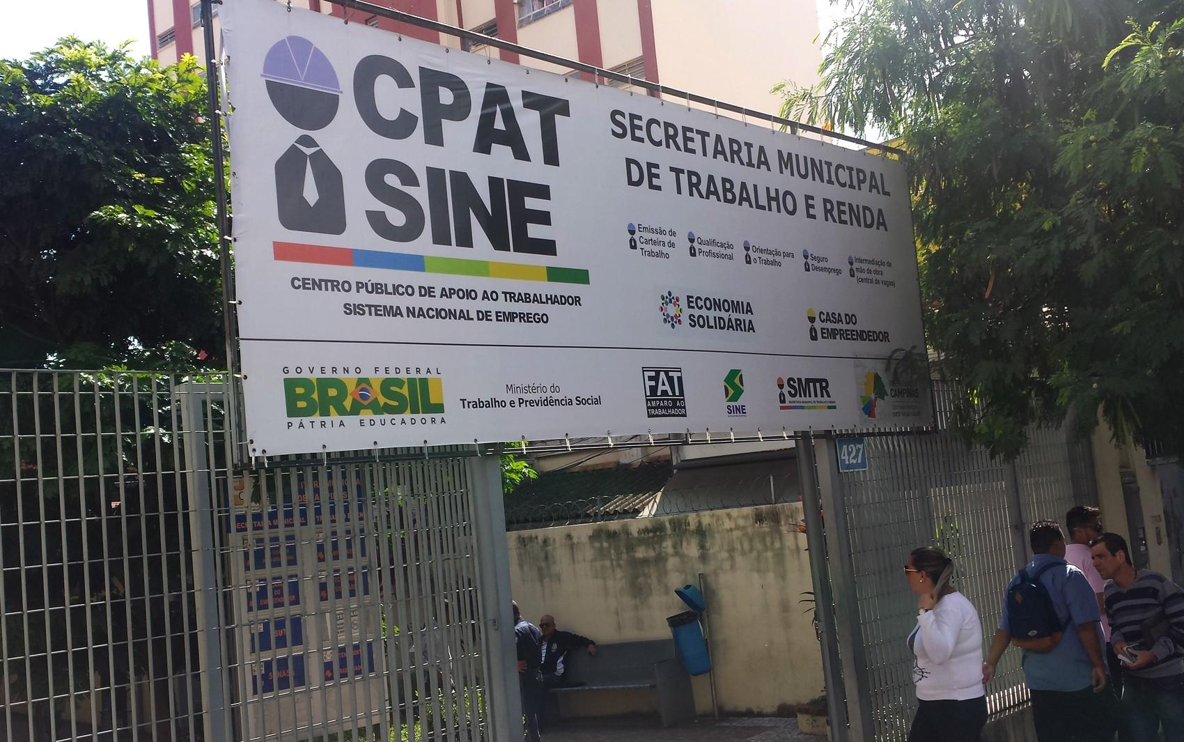 CPAT Campinas oferece 27 vagas de emprego com salários de até R$ 3,5 mil; veja lista