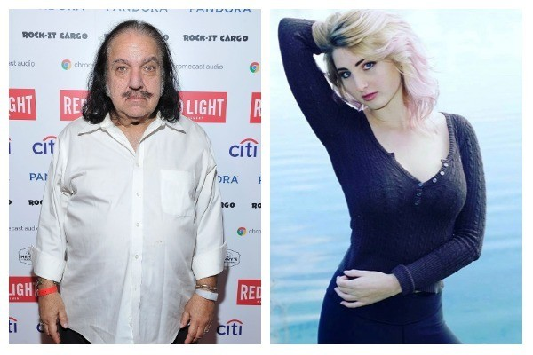 Ron Jeremy e Kristin Brodie (Foto: Getty Images / Instagram)