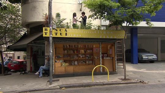Empresários de SP transformam bancas de jornal em pequenas livrarias e espaços de cultura independente