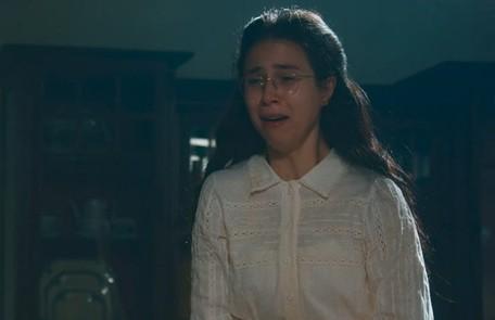 No sábado (2), Dolores e Tonico se casarão. A moça afirmará que ele não encostará a mão nela  TV Globo