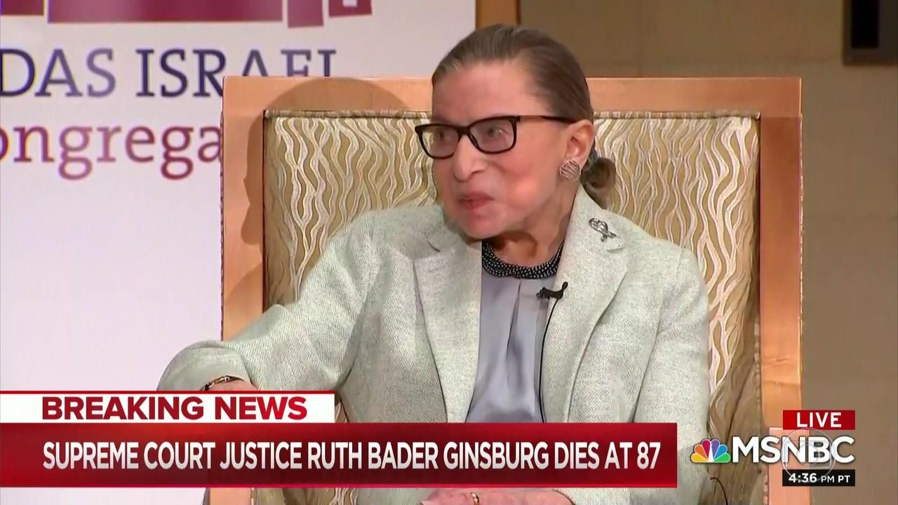 Morre Ruth Ginsburg, integrante mais idosa da Suprema Corte dos EUA