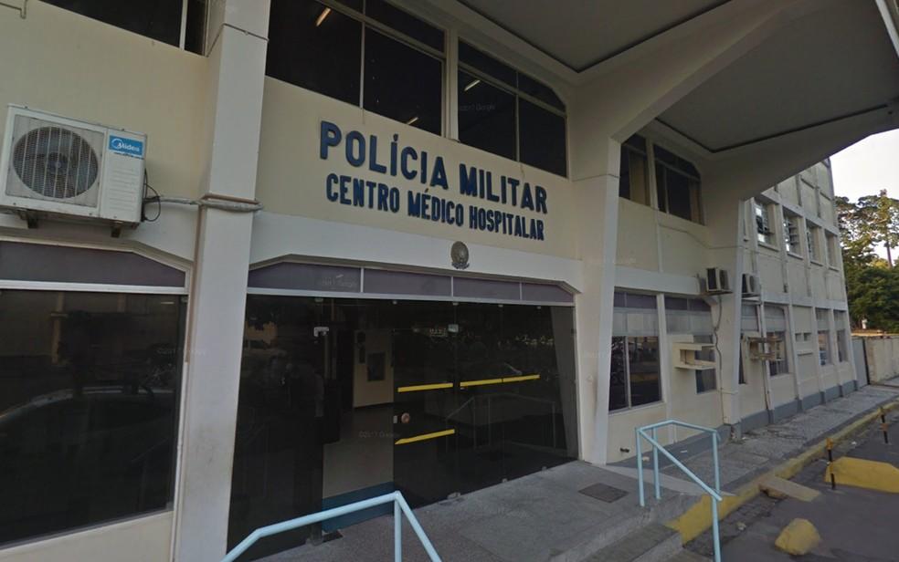 Hospital da Polícia Militar fica no bairro do Derby, na região central do Recife (Foto: Reprodução/Google Street View)
