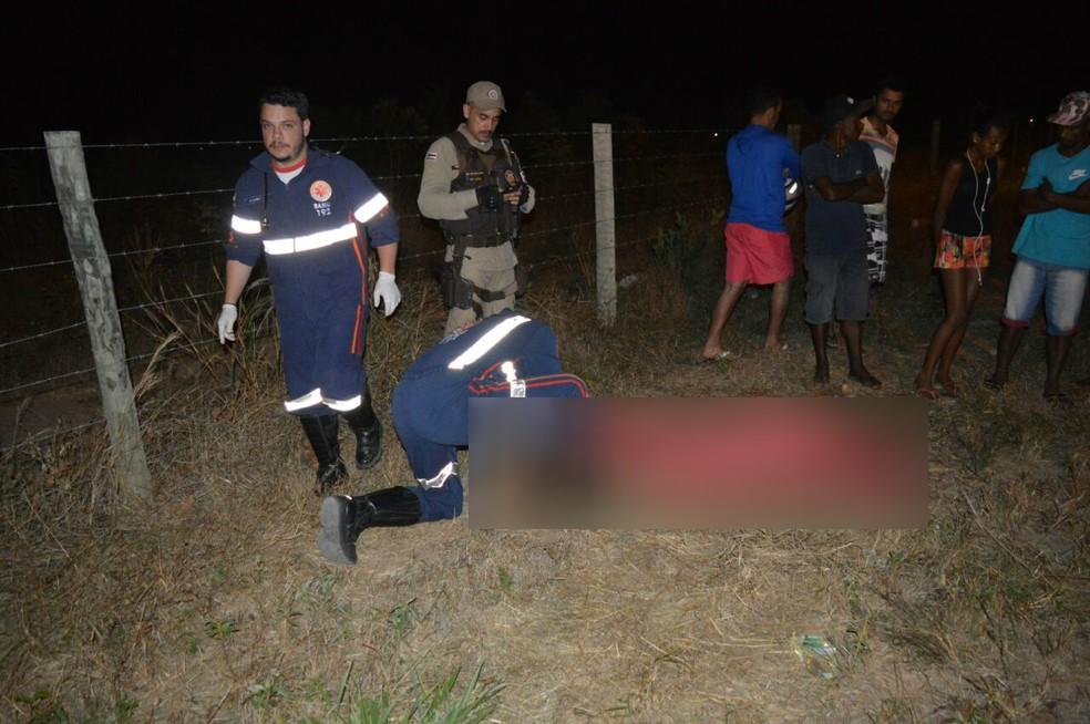 Vítima costumava agredir a mãe, segundo a polícia (Foto: Edivaldo Baraga/Blog Braga)
