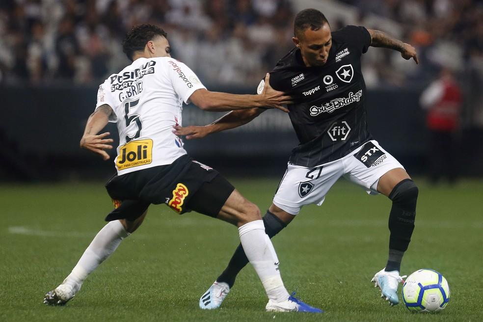 Lucas Campos fez 16 jogos pelo profissional do Botafogo — Foto: Vitor Silva/Botafogo