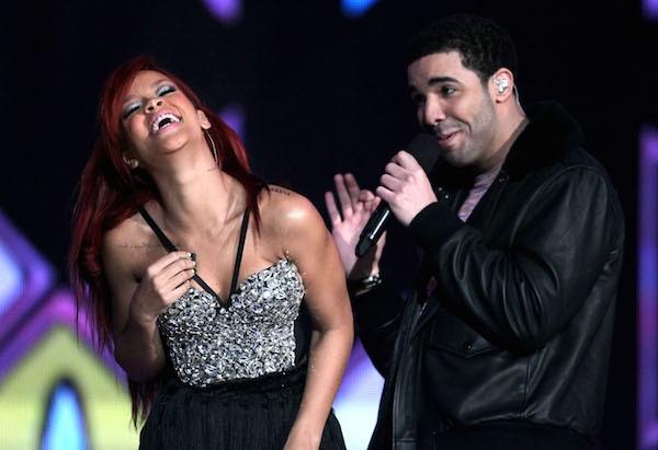 A cantora Rihanna e o rapper Drake (Foto: Getty Images)