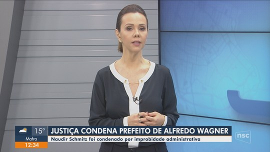 Justiça condena prefeito de Alfredo Wagner a perder função pública