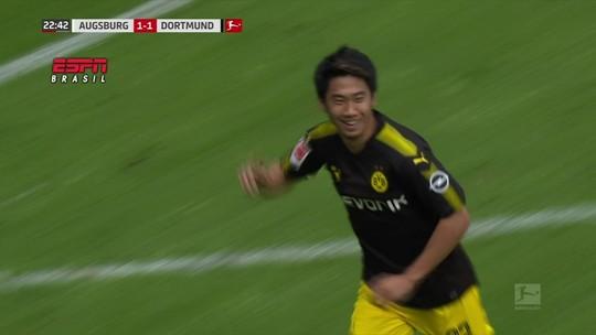 Não deu para Neymar: golaço de Kagawa é o mais belo do futebol internacional