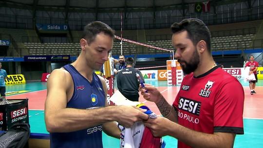 Final da Superliga masculina de Vôlei coloca dois amigos em lados opostos