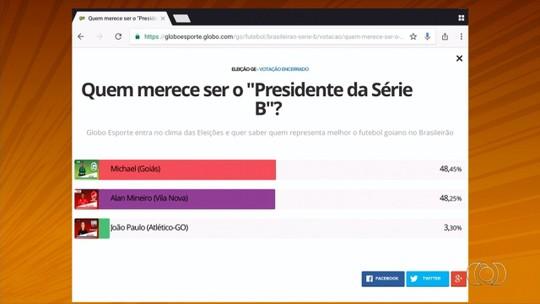 """Michael vence disputa acirradíssima com Alan Mineiro e é eleito o """"Presidente da Série B"""""""