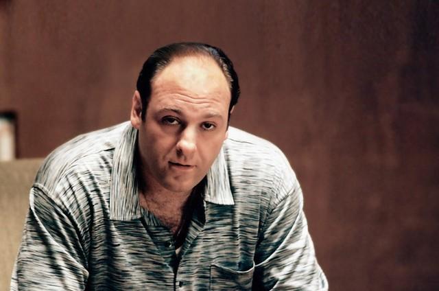 James Gandolfini em 'The Sopranos' (Foto: Reprodução)