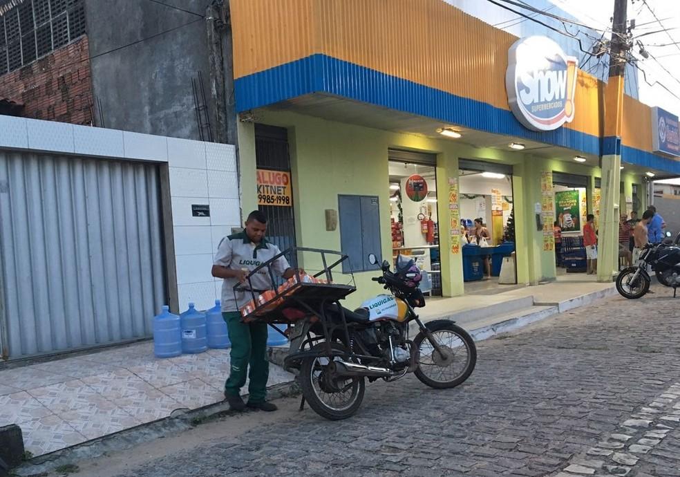 Super Show de Cidade Verde foi alvo de criminosos (Foto: Emmily Virgílio/Inter TV Cabugi)