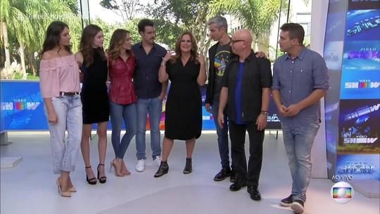 'Vídeo Show' completa 35 anos e reúne alguns apresentadores que já passaram pelo programa