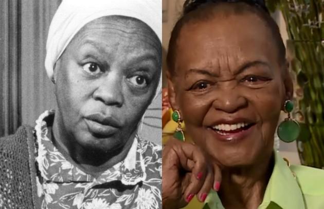 Ruth de Souza atuou no filme homônimo e na TV viveu Nhá Balbina. Aos 96 anos, ela gravará a minissérie 'Se eu fechar os olhos agora' (Foto: Acervo Globo / Reprodução)