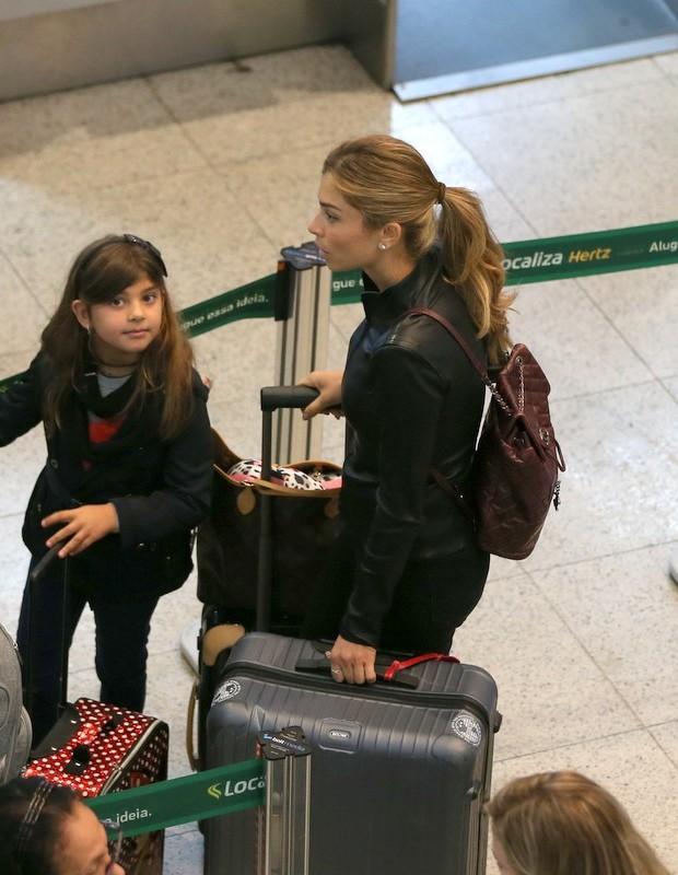 Grazi Massafera e a filha, Sofia (Foto: André  Freitas/AgNews)