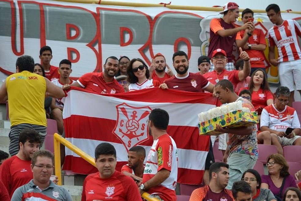 a5833493908 ... Ingressos para Sergipe x Goiás começam a ser vendidos neste segunda —  Foto  José Maria