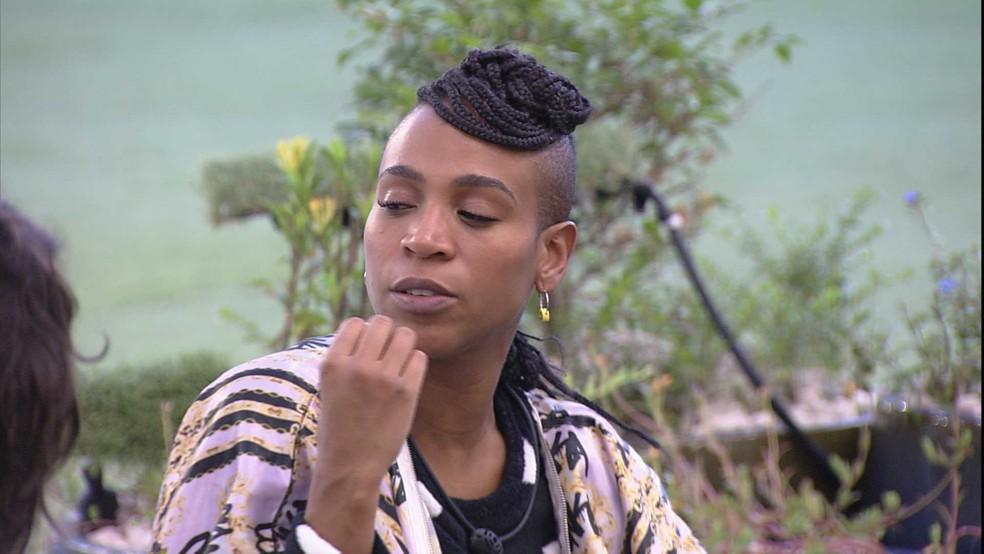 Karol Conká sobre Juliette: 'Muito egoísta'  — Foto: Globo