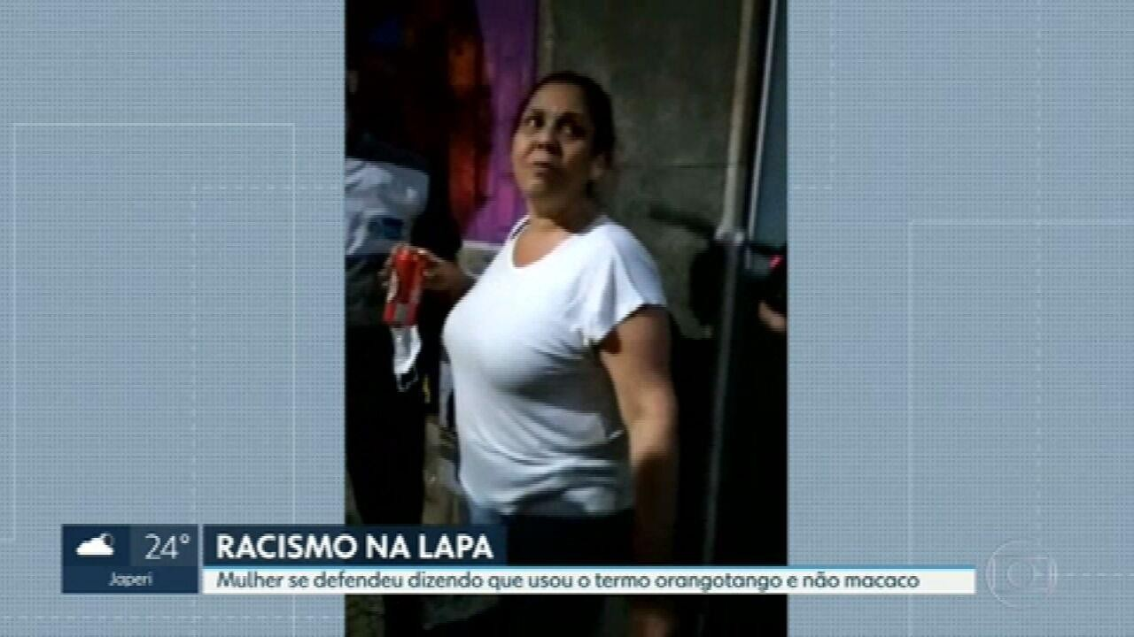Woman accused of racism in Lapa