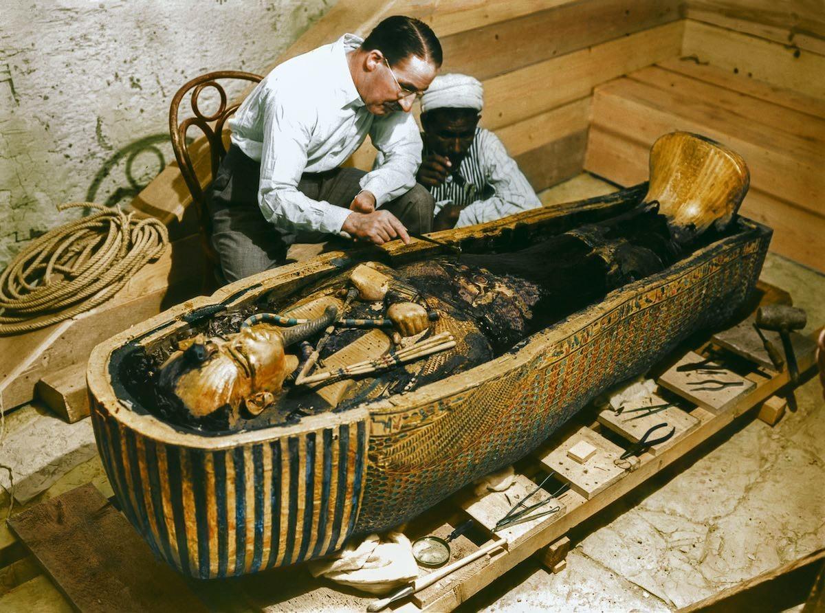 Túmulo do faraó Tutancâmon (Foto: Reprodução)