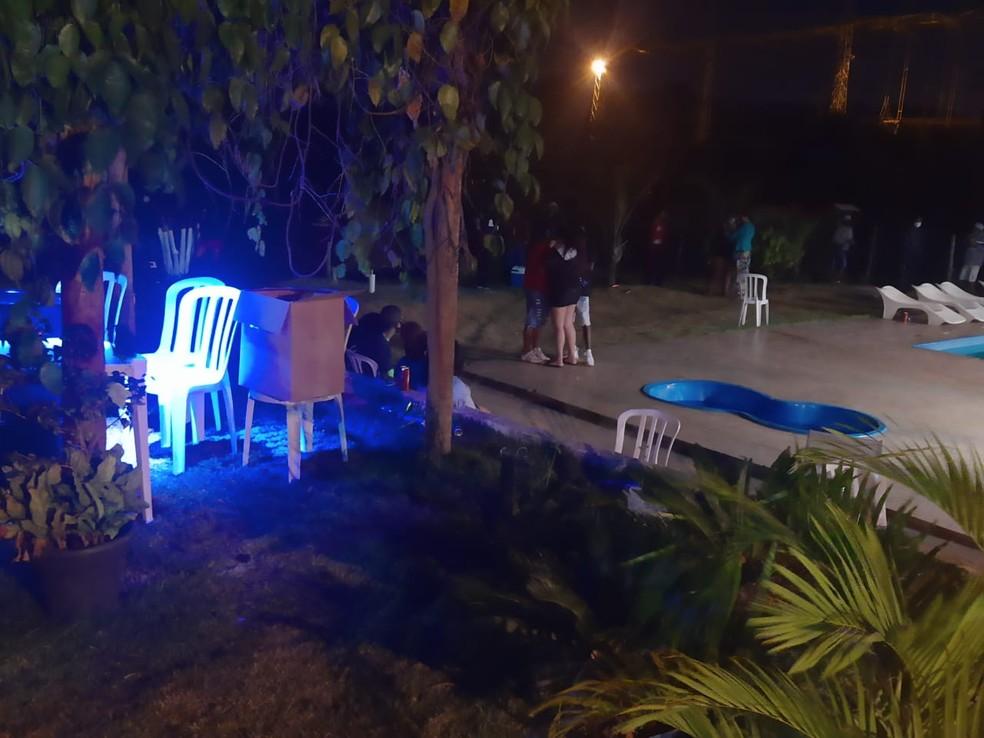 Aglomeração foi rapidamente dispersada — Foto: Divulgação/Guarda Civil Municipal de Contagem