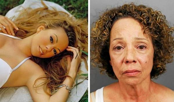 A cantora Mariah Carey e sua irmã Alison Carey (Foto: Instagram/Divulgação)