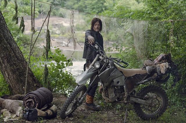 Norman Reedus em 'The Walking Dead'  (Foto: Gene Page/AMC)