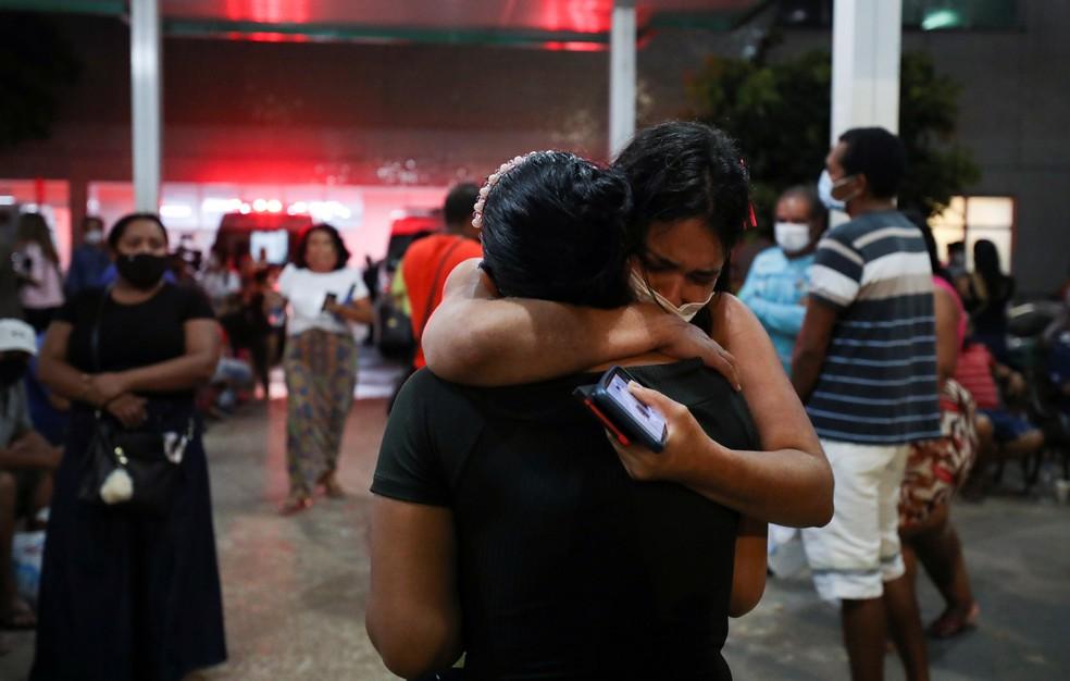Imagem de Manaus em 15 de janeiro de 2021 — Foto: REUTERS/Bruno Kelly