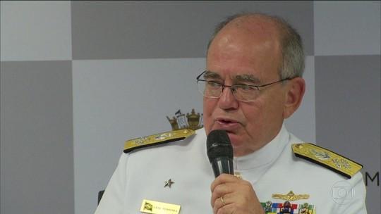 Bolsonaro se reúne com comandante da Marinha pela 2ª vez desde a eleição