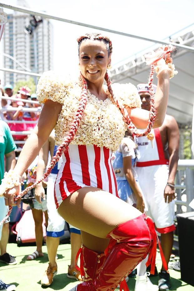 Carla Perez (Foto: Ricardo Cardoso/ Ed. Globo)
