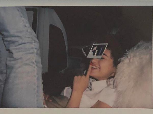 A foto compartilhada por Selena Gomez em homenagem ao aniversário de Justin Bieber (Foto: Instagram)
