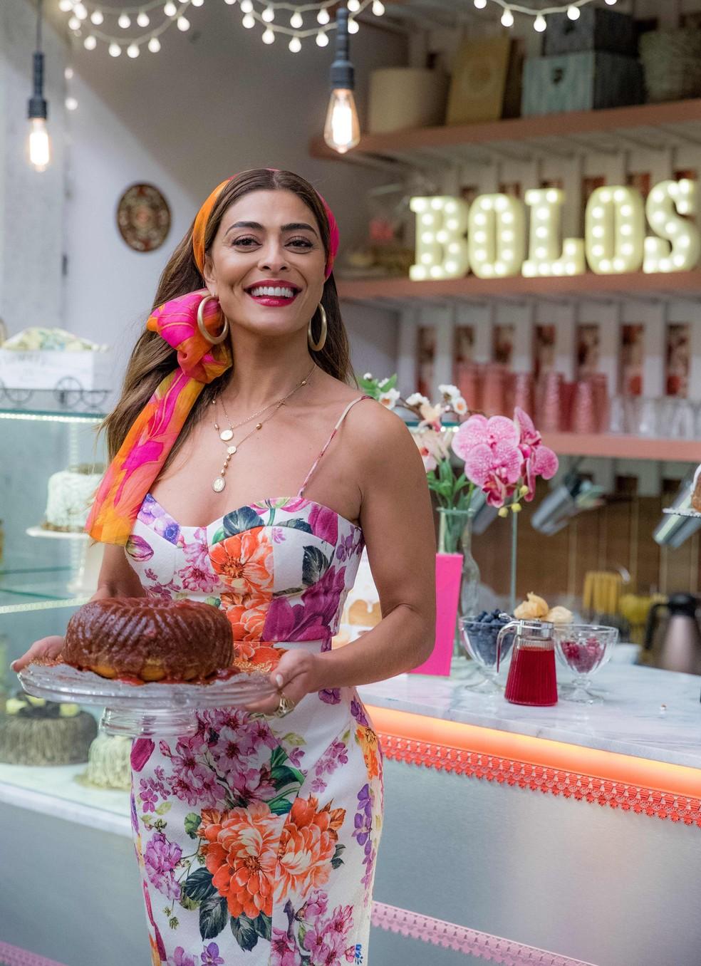 Juliana Paes caracterizada como Maria da Paz — Foto: Raquel Cunha/Globo