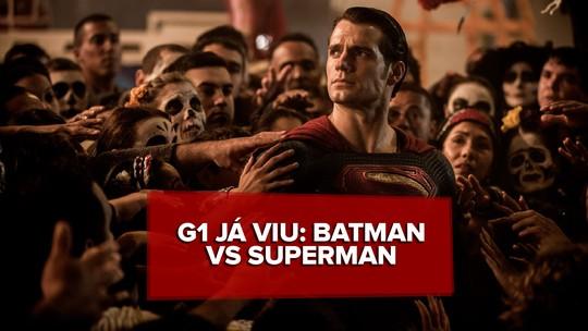 'Batman vs Superman': G1 discute filme e entrega spoilers