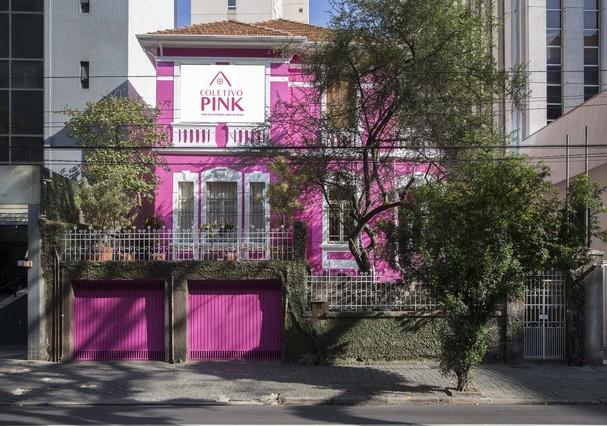Coletivo Pink, em São Paulo (Foto: Divulgação)